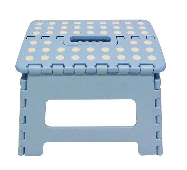 PLASTIC FOLDING STOOL-GREEN/BLUE/S,ITEM#00805226,塑膠摺叠式椅/矮板凳-綠色/藍色
