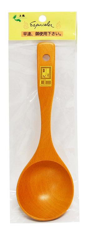 #801874 WOODEN LADLE-LARGE-TL 2404 木製湯杓