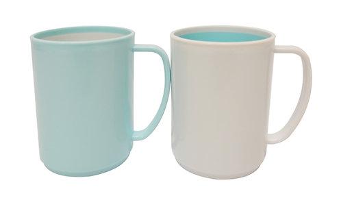 #803255 CHAHUA CUP (054005) 茶花雙色馬克杯