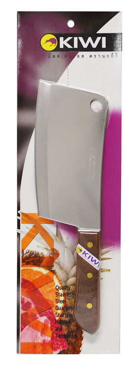 """#801414P KIWI S/S CHEF'S KNIVES#840(7"""") W/PACKAGE 不鏽鋼主廚刀"""