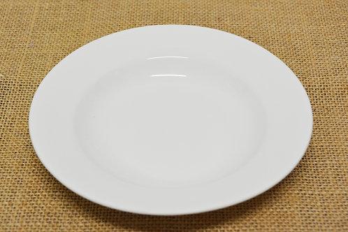 "#8002874 DEEP PLATE-WHITE-10"" 白瓷深盤-強化瓷(4 PCS)"
