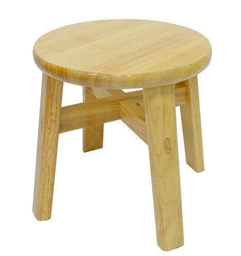 #805221 WOODEN STOOL-25CM 圓木凳