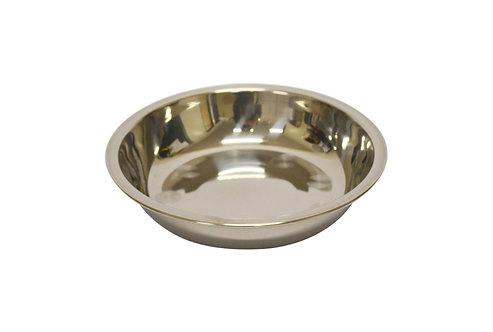 #800151 STAINLESS STEEL PLATE-12 CM 不銹鋼淺盤