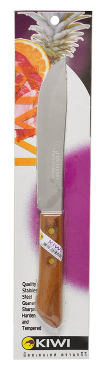 #801418P KIWI STAINLESS STEEL KNIVES#246 W/PACKAGE不銹鋼切肉刀