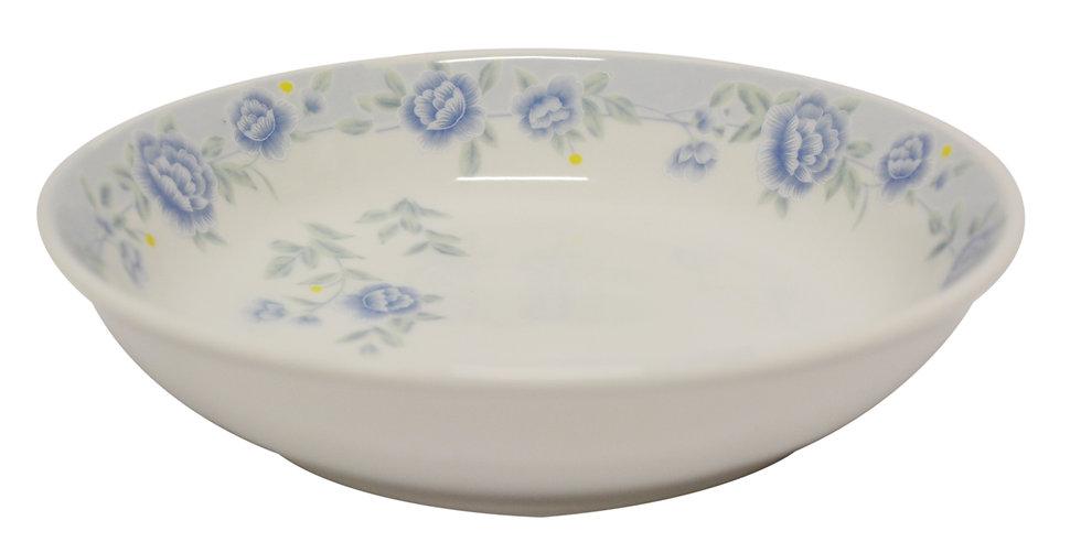 "10""  CERAMIC DINNER PLATE ITEM#00802314,日常瓷盤-藍牡丹(3 PCS)"