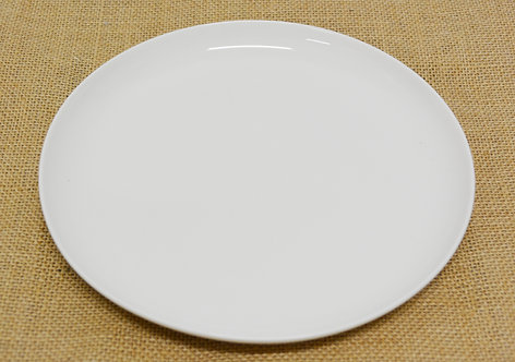 """#802888 DEEP COUPE PLATE-WHITE-9"""" 白瓷深凹盤 (18 PCS)"""