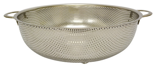 #800253 STAINLESS STEEL PUNCHING HOLE BASKET -34.5CM 不鏽鋼沖孔籃