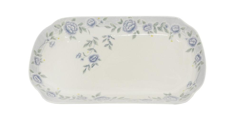 "CERAMIC DINNER PLATE 12"",ITEM#00802326,日常瓷盤-藍牡丹(3 PCS)"