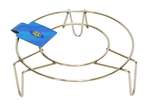 "#801522 STAINLESS STEEL WOK STAND-HIGH-10""  不鏽鋼鍋墊"
