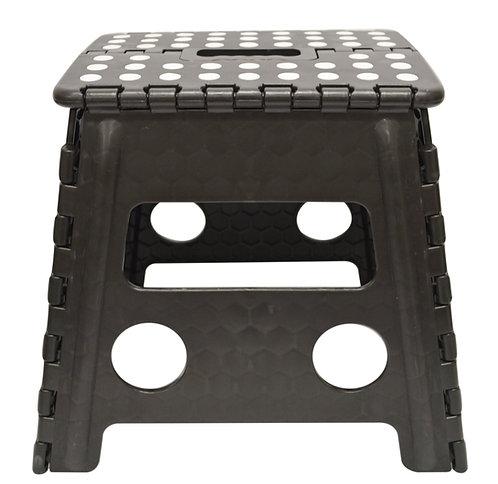#805227 PLASTIC FOLDING STOOL-BLACK/L 塑膠摺叠式椅/矮板凳-黑色