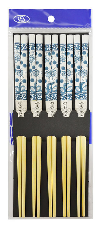 #801837 JAPANESE BAMBOO CHOPSTICKS-5 PAIRS 日本竹筷