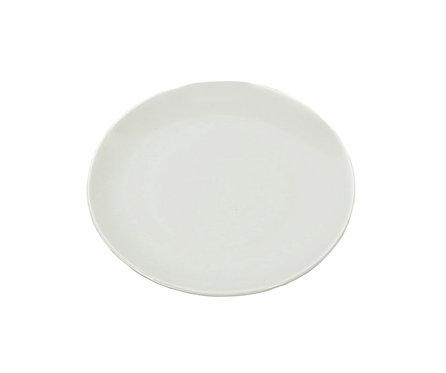 "#807210 PLATE-BONE CHINA-6"" 白色骨瓷盤(12 PCS)"