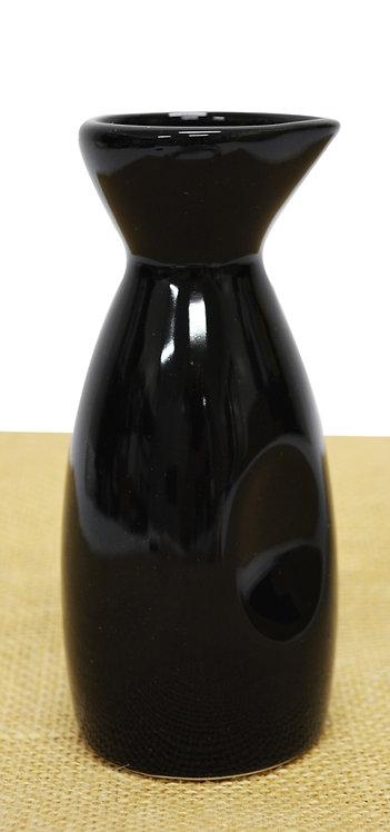 """#802863 SAKE POT-BLACK-4.75"""" 黑瓷清酒壺-強化瓷(9 PCS)"""