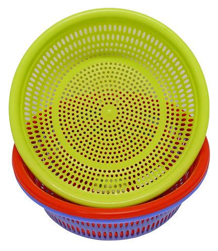 #803167 PLASTIC COLANDER-36CM 塑膠濾網籃