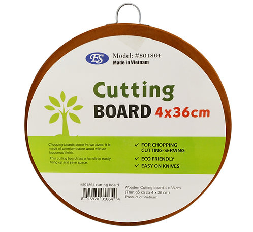 #801864 WOODEN CUTTING BOARD-36*4CM 厚木砧板