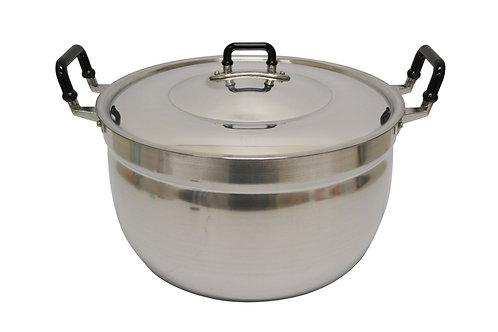 #800335 CROCODILE ALUMINUM COOKING POT-45 CM 鱷魚牌鋁製湯鍋