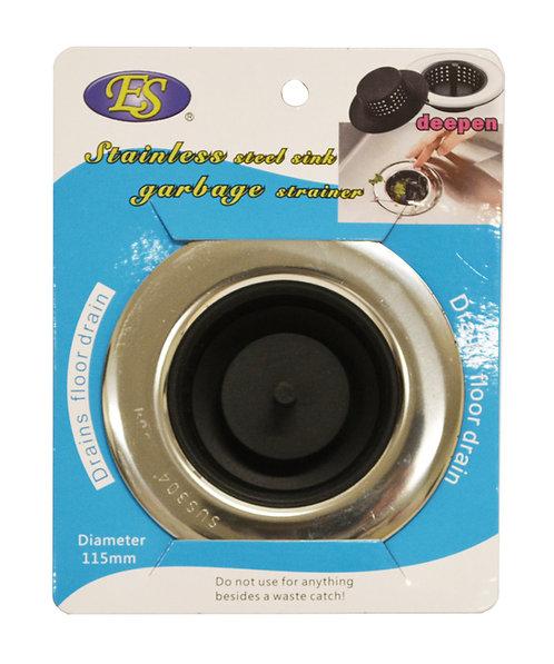#801543 PLASTIC SINK STRAINER-9CM 可伸縮矽膠水槽濾網