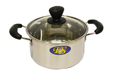 #800167 STAINLESS STEEL COOKING POT-22 CM 不銹鋼湯鍋
