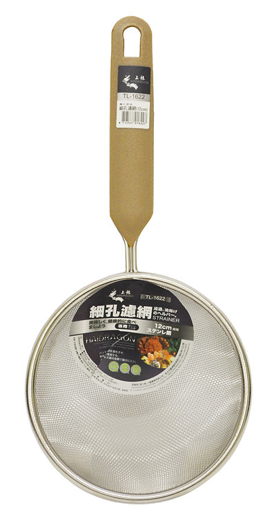 #801575 HD STAINLESS STEEL SKIMMER-12CM/TL1622 龍族不銹鋼細孔濾網