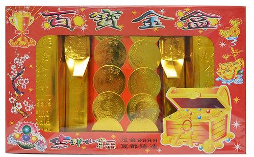 #804082 JOSS PAPER (GOLD)百寶金盒