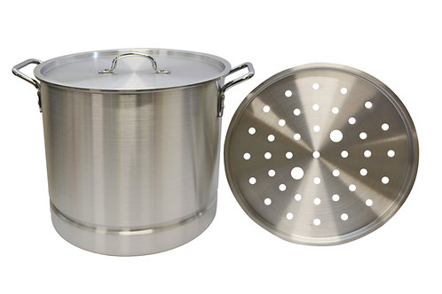 #800460S  ALUMINUM STOCK POT-1 SET 鋁製湯鍋(1組)
