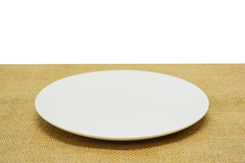 "#802812 PLATE-WHITE-8"" 白瓷盤-強化瓷(6 PCS)"