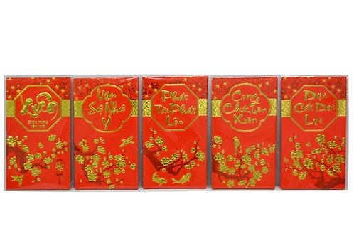 #808026 VIETNAMESE RED ENVELOPES-L 越南文大紅包 (360 PCS)