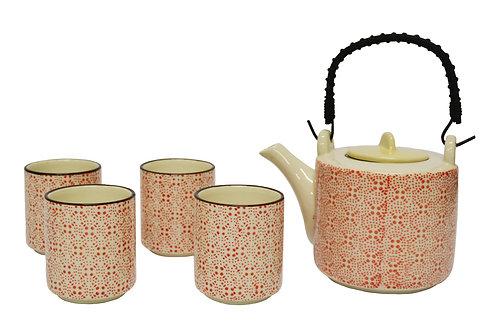 #802246 TEA SET 陶瓷 茶壺茶杯套組