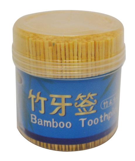 BAMBOO  TOOTHPICK, 4 OZ/TUBE(EST. 800 PCS/TUBE), 6TUBES, ITEM# 801815,  竹牙籤-單尖