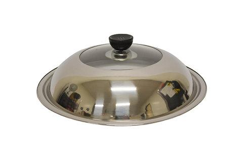 #800223 STAINLESS STEEL & GLASS LID-30CM 不銹鋼玻璃蓋