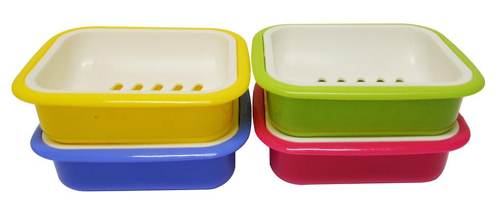PLASTIC SOAP HOLDER,ITEM#00803220, 肥皂盒(2 PCS)