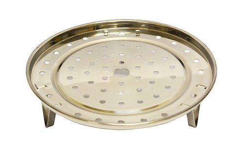 #801586 STAINLESS STEEL STEAM PLATE-22CM 不鏽鋼蒸盤