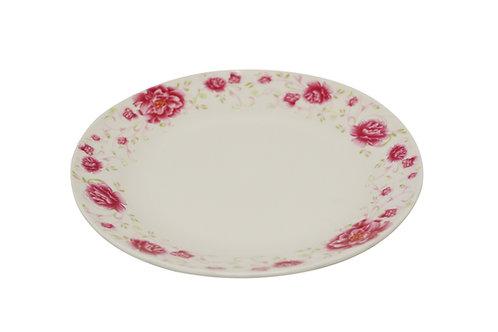 """#802516 SOUP PLATE-RED FLOWER-7"""" 紅花湯盤(6PCS)"""