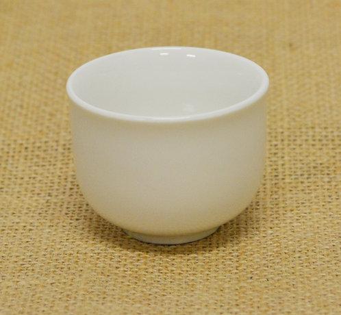 """#802855 SAKE CUP-WHITE-2"""" 白瓷清酒杯(24 PCS)"""