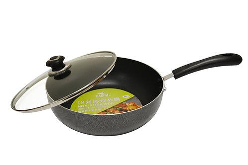 #800317 NON STICK WOK W/LID-INDUCTIO-30 CM 電磁爐不沾帶蓋炒鍋
