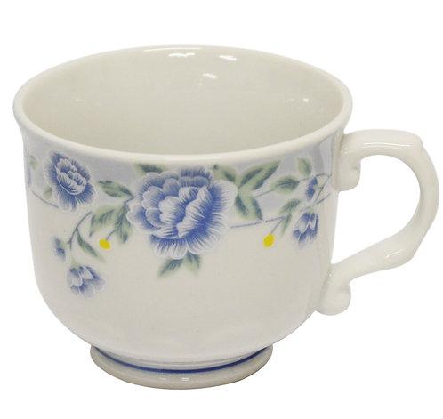 #802346 CUP-BLUE PEONY 茶杯含把手(8 PCS)