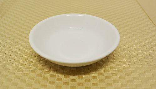 "#802835 SAUCE DISH-WHITE-3"" 白瓷醬料碟-強化瓷(12 PCS)"