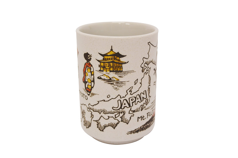 JAPANESE TEA CUP/SUSHI CUP,  4 CUPS, AH-025, 日本茶杯 4個