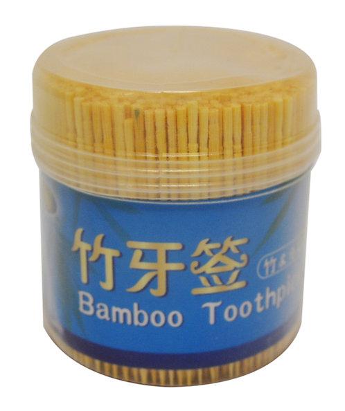 #801815 BAMBOO TOOTHPICK (800PC/1P) 竹牙籤-單尖(800 PC/BOX)