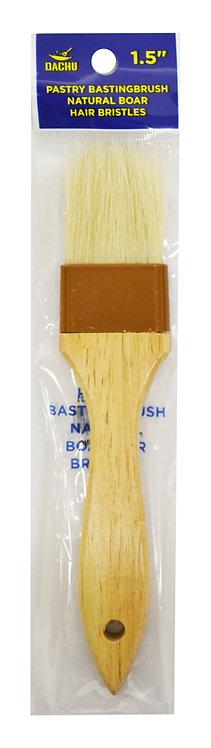 "#801321 BOAR PASTRY BRUSH-1.5""  木柄刷"