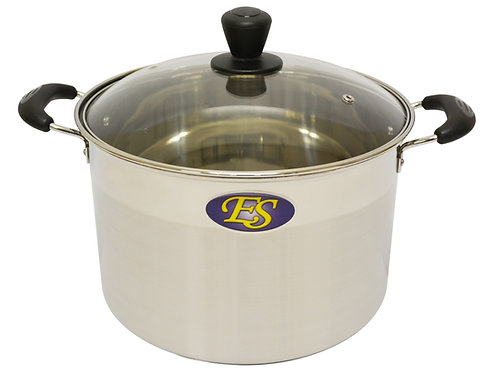 #800164 STAINLESS STEEL COOKING POT-26CM -M不銹鋼(中)湯鍋