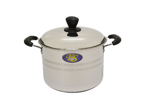 #800202S STAINLESS STEEL COOKING POT SET-MID (W/S/S LID) 不鏽鋼湯鍋-中/鋼蓋  (SETS)