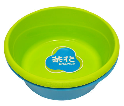 #803442 CHAHUA BASIN-33CM 茶花時尚通用盆  Use it for cleaning floors, hand washing deli