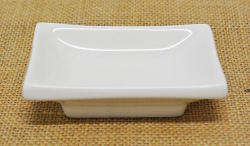 "#802834 SAUCE DISH-WHITE-4"" 白瓷醬料碟-強化瓷(6 PCS)"