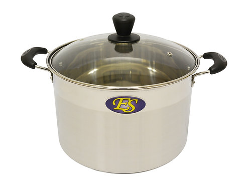 #800163 STAINLESS STEEL COOKING POT-24CM -M不銹鋼(中)湯鍋