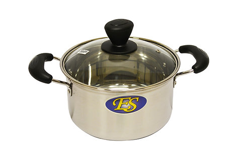 #800166 STAINLESS STEEL COOKING POT-20 CM 不銹鋼湯鍋