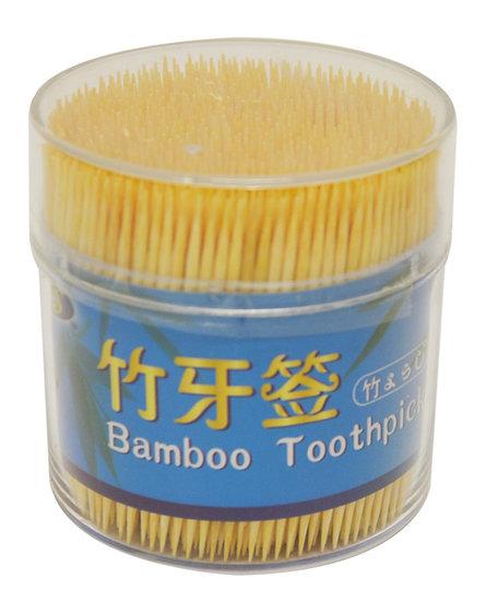 BAMBOO  TOOTHPICK, 4 OZ/TUBE(EST. 800 PCS/TUBE), 6TUBES,ITEM# 801893, 竹牙籤