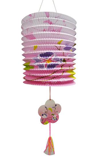 NEW YEAR PAPER LANTERN,ITEM#00808145,花草手提燈籠 (1 PCS)