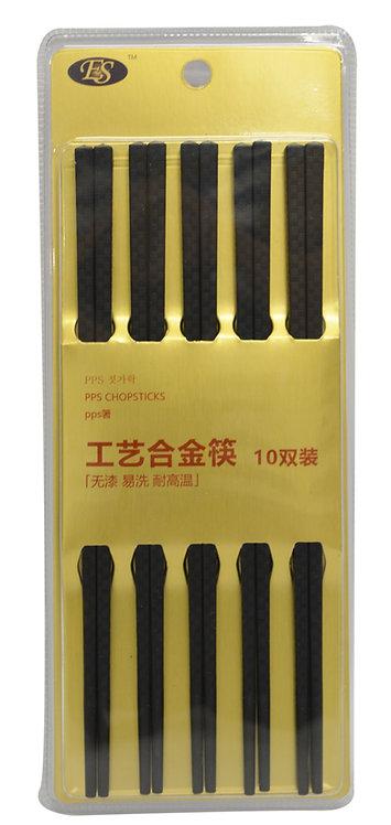 #801978 PPS CHOPSTICKS-10 PAIRS 工藝合金筷