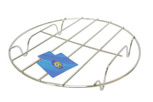 "#801525 STAINLESS STEEL WOK STAND-SHORT-10""不鏽鋼鍋墊"